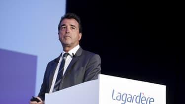 Arnaud Lagardère, gérant du groupe qui porte son nom