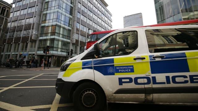 Un véhicule de police à Londres (photo d'illustration).