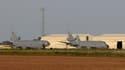 Deux avions américain sur la base militaire de Moron de La Frontera, le 18 mars 2011.