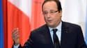 François Hollande le 15 novembre 2013, à l'hôtel de Ville de Paris devant les maires francophones.