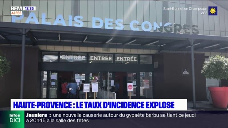 Digne-les-Bains: la campagne de vaccination bat son plein