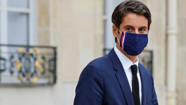 Gabriel Attal le 23 juin 2021 à Paris