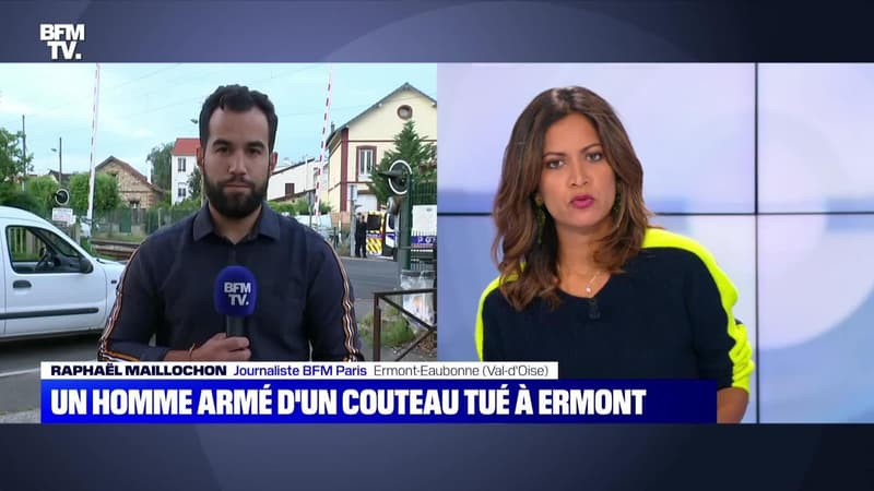 Un homme armé d'un couteau tué à Ermont - 30/06