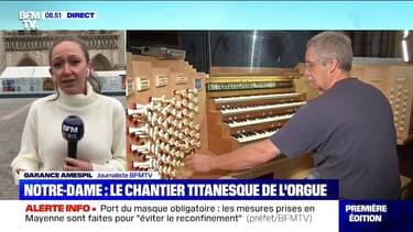 Notre-Dame de Paris: le chantier de rénovation de l'orgue commence aujourd'hui