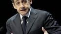 """Nicolas Sarkozy a appelé mercredi le Conseil de sécurité de l'Onu à prendre ses responsabilités en imposant """"sans délai"""" une zone d'exclusion aérienne en Libye pour mettre fin aux """"actions meurtrières"""" de Mouammar Kadhafi. /Photo prise le 16 mars 2011/REU"""