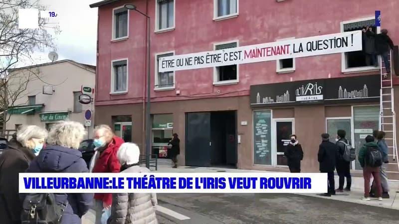 Villeurbanne : le théâtre de l'Iris veut rouvrir