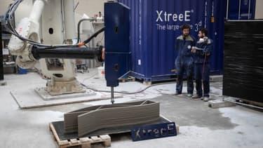 La société Xtreee a mis au point la tête d'impression de l'imprimante 3D