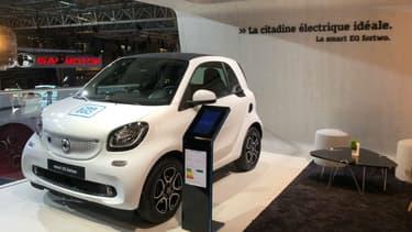 La flotte de voitures de Car2Go sera composé de Smart électriques.
