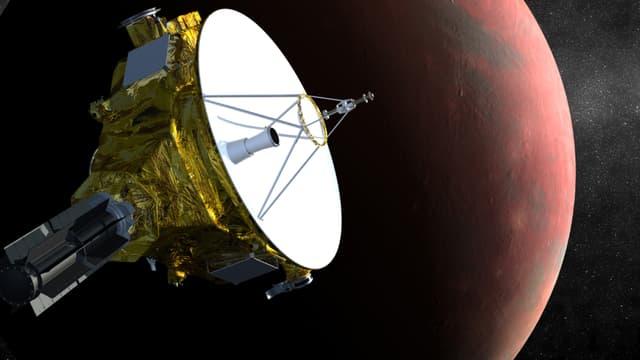 La sonde américaine New Horizons est arrivée près de Pluton après neuf ans de voyage.