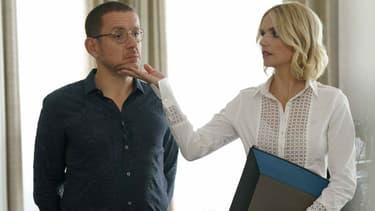 """Dany Boon et Laurence Arné dans """"La Ch'tite Famille"""""""
