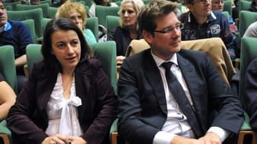 Cécile Duflot et Pascal Canfin sont dans le collimateur du gouvernement, après la manifestation contre l'aéroport de Notre-Dame-des-landes.