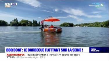 Paris Mobility : BBQ BOAT, le bateau barbecue  sur la Seine !