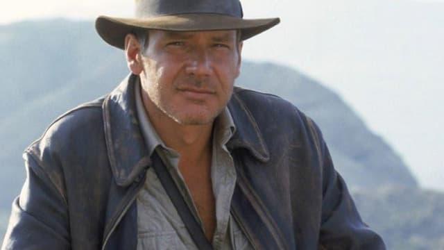 """Harrison Ford dans """"Indiana Jones et la Dernière Croisade"""", en 1989. Le cinquième volet de la saga sortira en 2019, soit 30 ans après."""