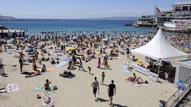 La plage des Catalans, située en plein coeur de Marseille, a déjà bénéficié de travaux de sécurisation.