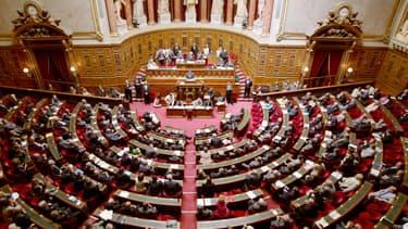 Dans l'hémicycle du Sénat, l'UMP qui devrait reprendre la présidence, pourrait en pour construire son projet d'alternance