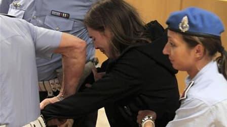 Le parquet italien se pourvoit en cassation après l'acquittement, lundi, de l'Américaine Amanda Knox, jugée en appel pour le meurtre de sa colocataire britannique Meredith Kercher en 2007 à Pérouse. /Photo prise le 3 octobre 2011/REUTERS/Pietro Crocchioni
