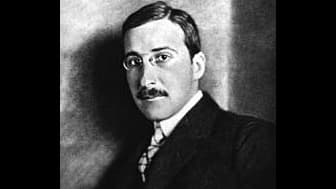 Stefan Zweig, vers 1912.