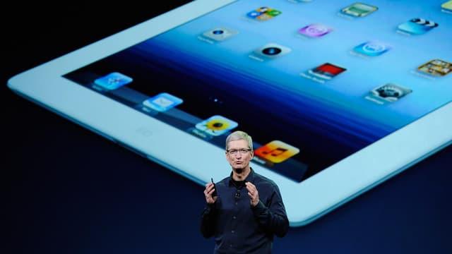Avec l'iPad mini, Apple ne crée pas un marché (comme avec l'iPad, ici en photo) mais rattrape son retard