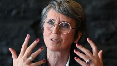 Fabienne Grébert, tête de liste EELV pour les prochaines régionales en Auvergne-Rhône-Alpes, le 16 mars 2021 à Lyon