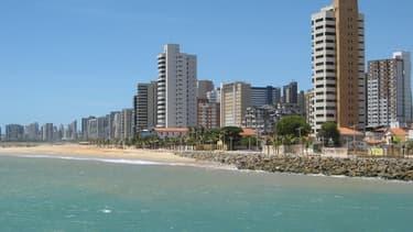 Fortaleza est un point d'entrée au Brésil beaucoup plus rapide, plus proche de l'Europe.