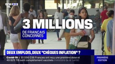 Les personnes cumulant deux emplois pourront-elles toucher deux fois l'indemnité inflation ?