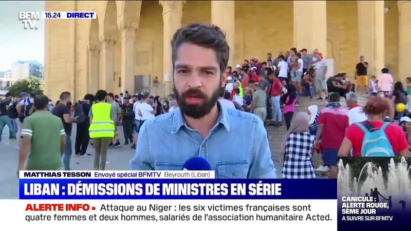 Quatre ministres libanais ont démissionné face à la colère de la population