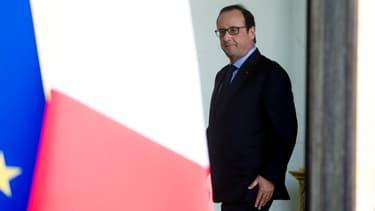 """François Hollande a précisé qu'un éventuel élargissement de l'assiette de la redevance """"ne coûterait rien de plus à personne""""."""
