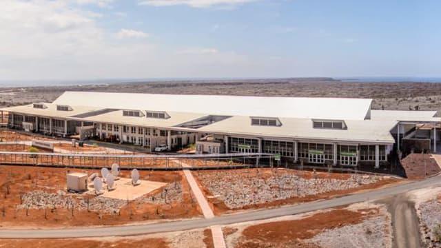 L'aéroport est aujourd'hui le premier à utiliser entièrement les énergies renouvelables pour fonctionner.