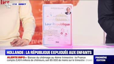 Dans une bande dessinée, François Hollande explique la République aux enfants