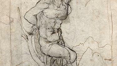 Un nouveau dessin de Leonard de Vinci découvert en France