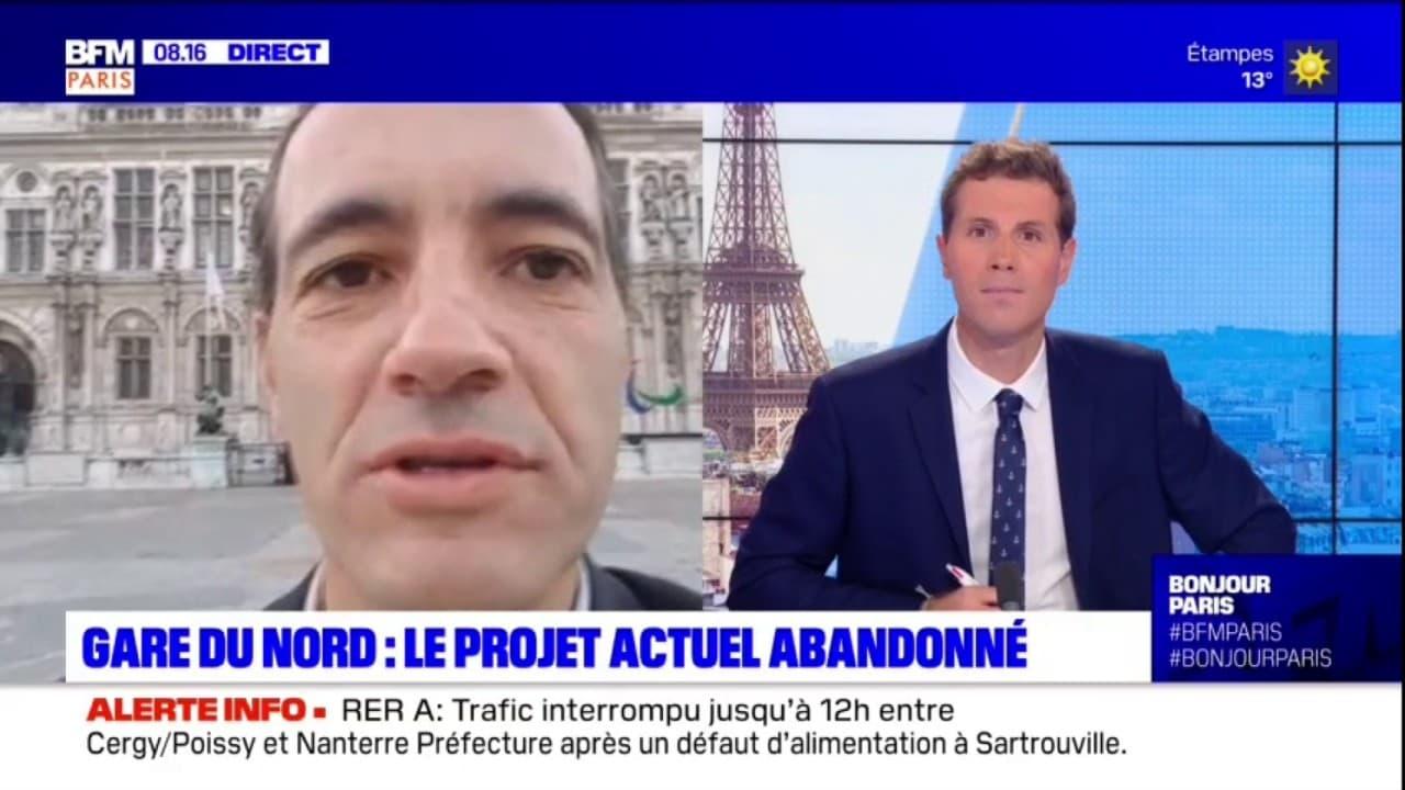 """Gare du Nord: le président du groupe communisme au Conseil de Paris se """"réjouit"""" de l'abandon du projet de rénovation"""