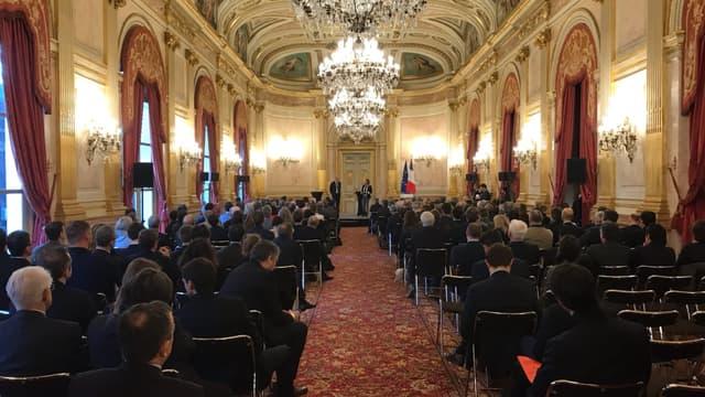 250 chefs d'entreprise réunis à l'Assemblée nationale pour mieux s'approprier la loi Pacte.
