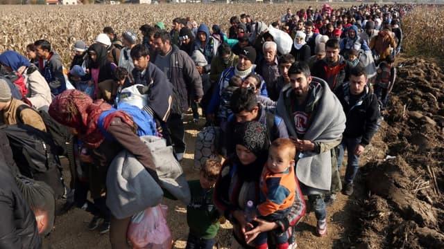 Athènes demande une aide européenne pour accueillir 100.000 réfugiés - Mardi 1er Mars 2016