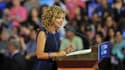 La présidente du parti démocrate Debbie Wasserman Schultz le 23 juillet dernier en Floride.