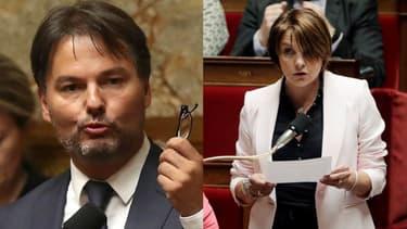 Guillaume Vuilletet et Sylvie Tolmont.
