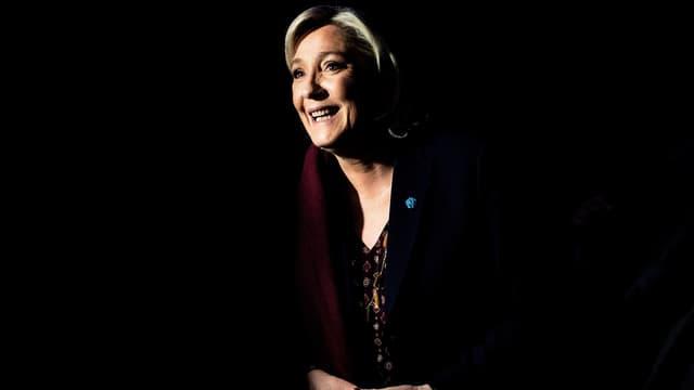 Marine Le Pen à Lyon.