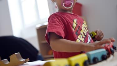 Un enfant qui joue. (photo d'illustration)