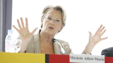 Michèle Alliot-Marie, en août 2008.
