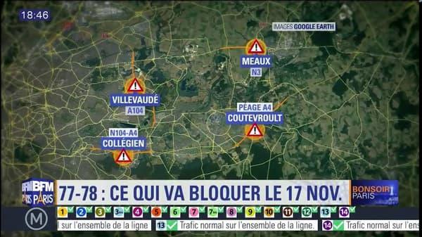 Les points de rassemblement en Seine-et-Marne