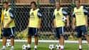 Ronaldo, Luis Figo, David Beckham et Zinedine Zidane à l'époque des Galactiques du Real Madrid