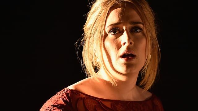 Adele sur scène le 15 février 2016