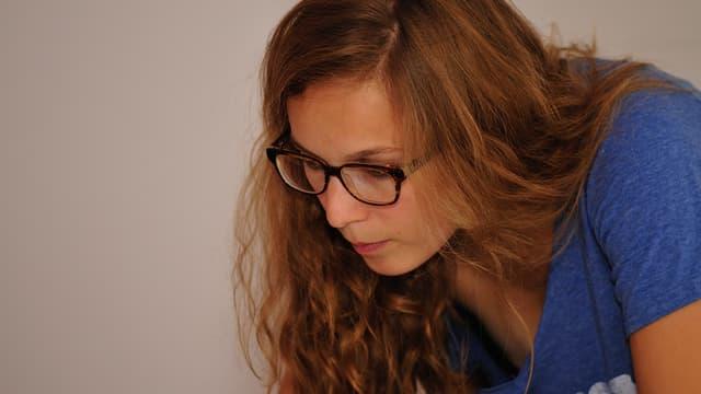 Mathilde Collin, diplômée d'HEC, dirige à 25 ans l'entreprise qu'elle a co-fondée.