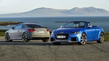 La nouvelle TT RS en version coupé ou roadster