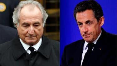 """Le Premier ministre François Fillon a critiqué la comparaison entre Nicolas Sarkozy et l'escroc américain Bernard Madoff faite par Martine Aubry. Le premier secrétaire du PS a déclaré samedi devant des militants socialistes que """"quand Nicolas Sarkozy nous"""