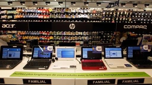 Comment expliquer la chute vertigineuse des ventes de PC en Europe au 3ème trimestre 2012 ?