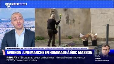 Avignon : une marche en hommage à Eric Masson - 08/05