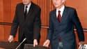 Bernard Roman à gauche