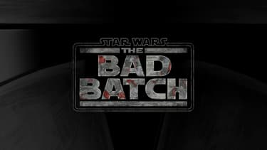 "Logo de la série animée ""The Bad Batch"", située dans l'univers ""Star Wars"""