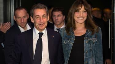 Carla Bruni Partage Une Photo De Nicolas Sarkozy Avec Leur Fille Giulia Pour Souhaiter La Bonne Annee