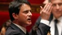 Manuel Valls, le ministre de l'Intérieur, ici à l'Assemblée, a prôné mardi la fermeté contre l'antisémitisme lors d'une cérémonie dans une synagogue de Toulouse, un an jour pour jour après que Mohamed Merah eut tué un rabbin et trois enfants dans une écol
